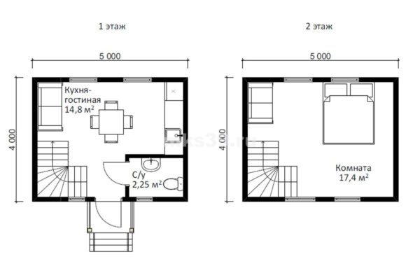 дом 1 план