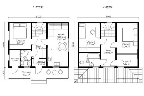 8х75 план