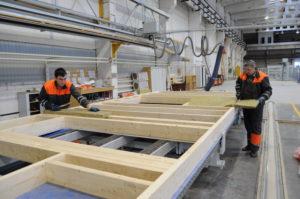 Процесс производства проекта Баня со вторым светом